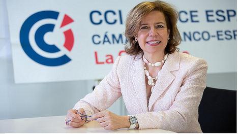 Sara Bieger, nueva presidenta de la Cámara Franco-Española de Comercio e Industria