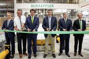 Schaeffler inaugura un nuevo centro logístico en Kitzingen