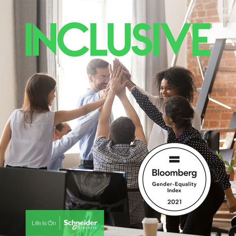 Schneider Electric en el Bloomberg Gender-Equality Index por cuarto año consecutivo