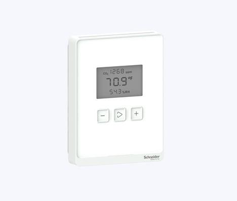 Schneider Electric lanza dos gamas de multisensores para garantizar la calidad del aire interior