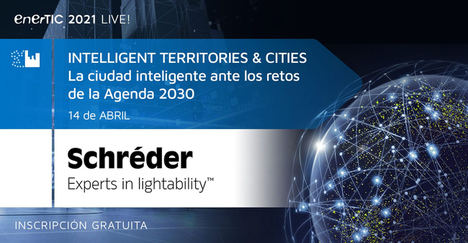 Schréder participa en el Foro intelligent Territories & Cities
