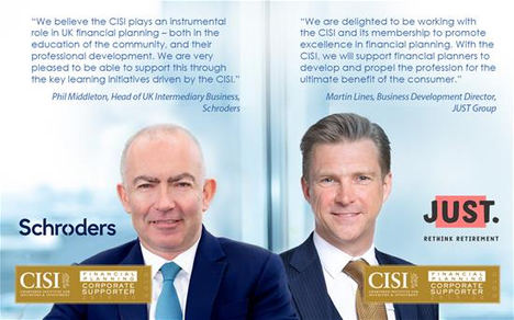 Schroders y JUST, confirmados como CISI Gold Supporters