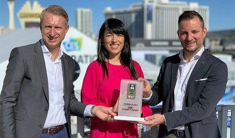 SEAT recibe el premio Empresa del año en el CES 2020