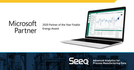 Seeq nominada finalista de los premios Energy 2020 Microsoft Partner of the Year
