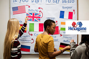 Según Hexagone, 4 de cada 10 profesionales optan por estudiar un tercer idioma antes que un postgrado
