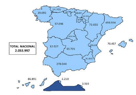 La Seguridad Social registra 2.053.997 trabajadores extranjeros de media en febrero