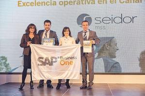 Seidor galardonada por SAP por su exitosa trayectoria en España y Latinoamérica