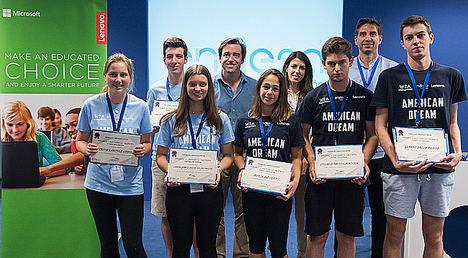 Seis estudiantes ganan los Premios Iluminamos Talento Fundación Endesa del programa American Dream