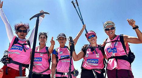 Seis mujeres supervivientes de cáncer de mama se enfrentan al reto Pelayo Vida