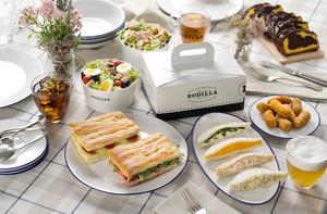 Rodilla se une a Just Eat para repartir sus icónicos productos a domicilio
