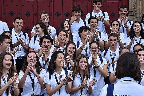 La UFV y el Santander ya cuentan con los 50 estudiantes españoles más brillantes para Becas Europa