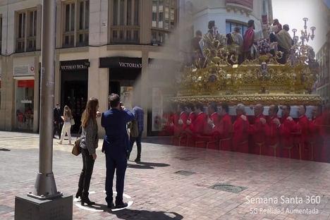 Telefónica impulsa los servicios 5G orientados al turismo con el desarrollo de un piloto para ver la Semana Santa de Málaga en cualquier época del año