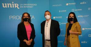 Ponentes del Seminario 'Libertad de expresión en la era digital' de UNIR.