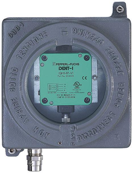 Sensor RFID en caja Ex d.