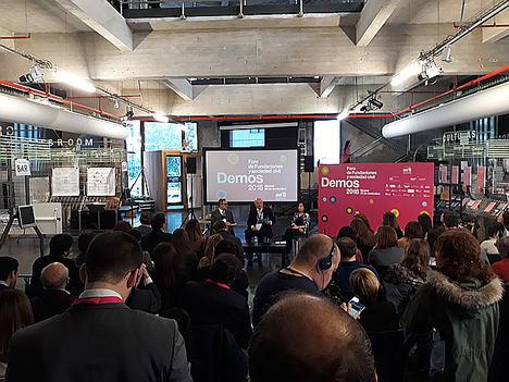 """""""Las fundaciones deben adaptarse a los códigos de buen gobierno"""", afirma Pedro Tomey en Demos2018, el Foro de las Fundaciones"""