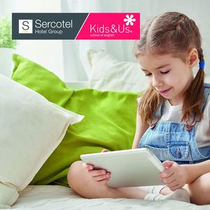 Sercotel Hotel Group ofrece de la mano de Kids&Us contenidos didácticos en inglés para niños