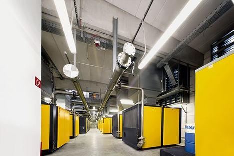 SERVIAIRE lleva a cabo el proyecto de instalaciones de aire comprimido y frío industrial de una de las mayores fábricas de productos de aseo personal, cosmética y productos del hogar de España