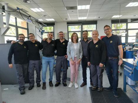Interroll selecciona a Quintino Material Handling Solutions como socio local para el servicio de mototambores de Interroll en Argentina y Uruguay