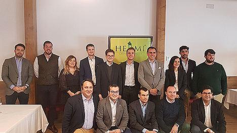 Sesión Santiago Miguel, Grupo Hermi dic 2018.