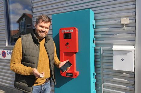 El nuevo invento Noruego que permite a las empresas de alquiler y talleres de reparación de automóviles atender a clientes sin contacto físico