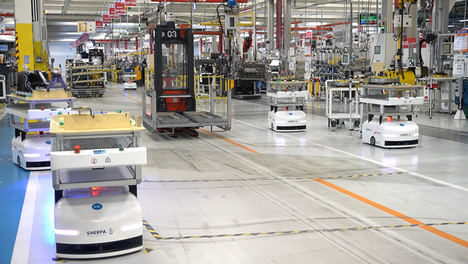 Sherpa Mobile Robotics despliega una flota de robots para la automatización de líneas en FPT Industrial