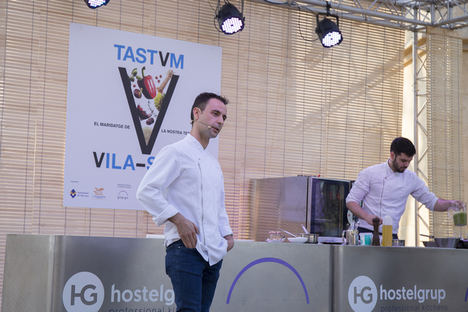 Showcooking Eduard Xatruch.