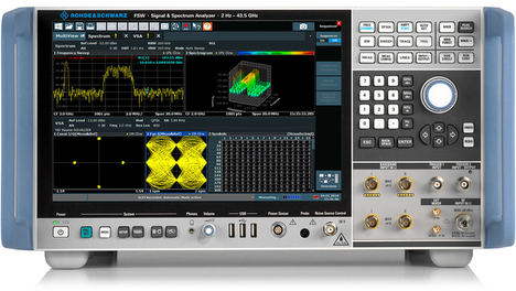 Rohde & Schwarz posibilita el análisis de señales de la banda ultra-ancha sub-THz
