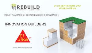 SIKA, Event Partner en Rebuild 2021, presentará sus soluciones innovadoras y sostenibles