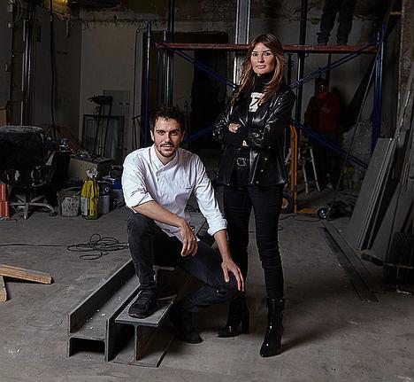 Silvia Hofmann y Miquel Guarro.