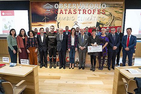 Ponentes del Simposium sobre Cambio Climático, miembros del Think Tank del Observatorio de Catástrofes y Patronos de la Fundación Aon.