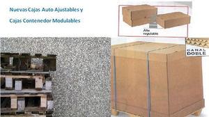 Sisdem lanza dos nuevas cajas de cartón de tamaño palet para conseguir un ahorro de costes y evitar daños en el transporte