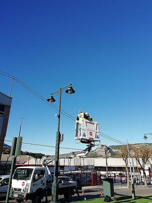 Primera implantación en España del sistema de Schréder VolumLightTM