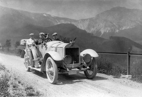 110 años del Rally de los Alpes