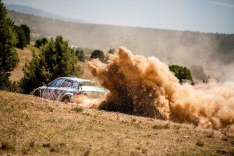 La nueva generación del Skoda Fabia Rally2 en fase de pruebas