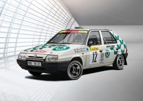 Versiones Motorsport del Skoda Favorit de 1989