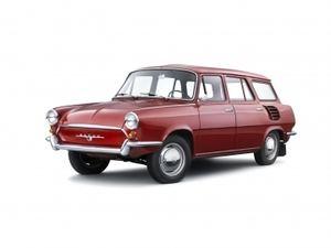 """Otro de los modelos poco conocido de Skoda, el Type 990 """"Hajaja"""""""