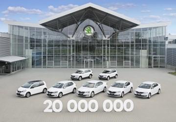 Skoda alcanza los 20 millones de vehículos producidos