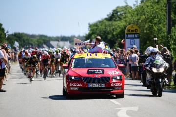 Skoda apoya el Tour de Francia por 16ª vez