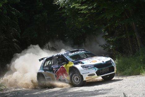 Skoda Motorsport apoya el desarrollo del coche eléctrico para rally RE-X1 Kreisel