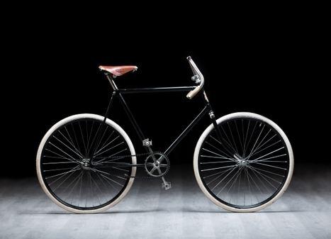 Skoda presenta una réplica de una bicicleta Slavia de 120 años