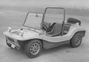 Otro modelo Skoda poco conocido, Buggy Type 736