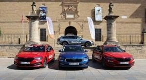 Skoda, coche oficial del Campeonato de España de ciclismo en carretera