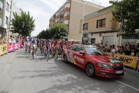 Skoda, vehículo oficial de la Vuelta Ciclista a España 2018