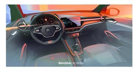 Primeras impresiones del interior del nuevo Skoda Fabia