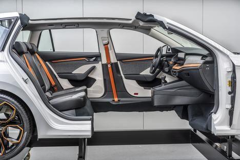 Skoda Auto utiliza materiales ecológicos en sus vehículos