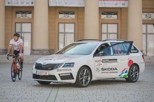 Skoda patrocinador del Campeonato Mundial de Ciclismo en Ruta 2018