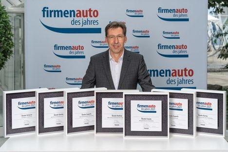 """Skoda Auto recibe el galardón """"Companybest 2020"""""""
