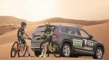 Skoda reta a los mejores ciclistas amateur para la Garmin Titan Desert 2020