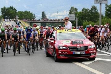 Skoda principal socio oficial del Tour de Francia