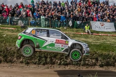 Škoda Motorsport primera victoria de la temporada en el WRC 2